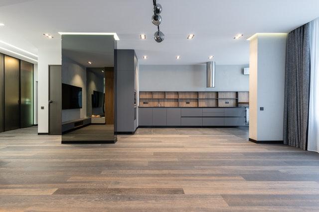 panele drewniane w kuchni